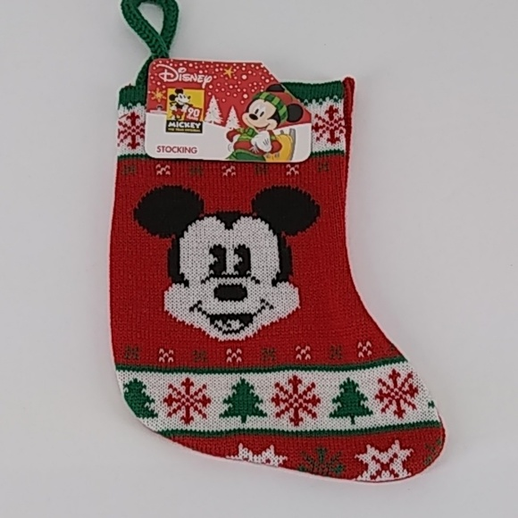 Disney Cross Stitch Christmas Stocking Patterns.Disney Mickey Mouse Mini Stocking